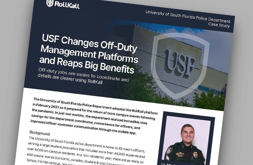Case Study: University of South Florida Police Department
