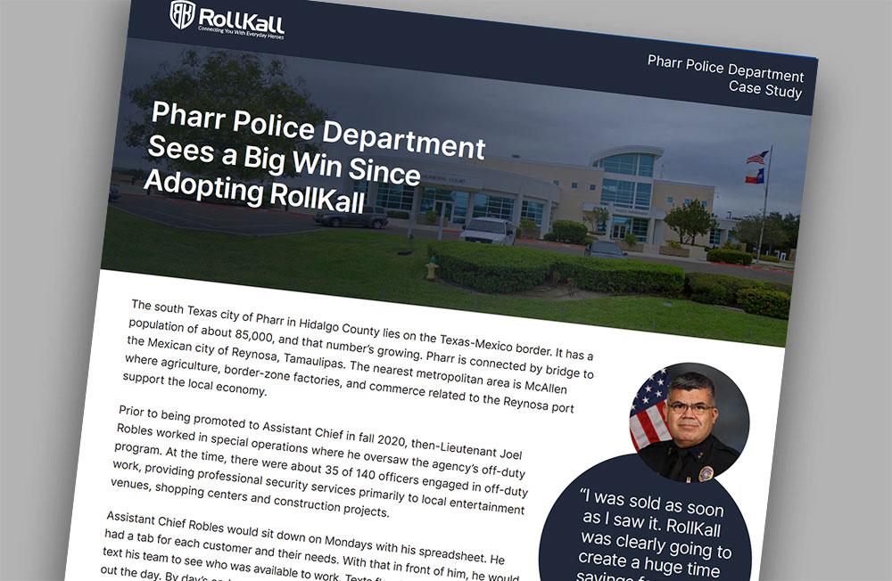 Case Study:Pharr Police Department